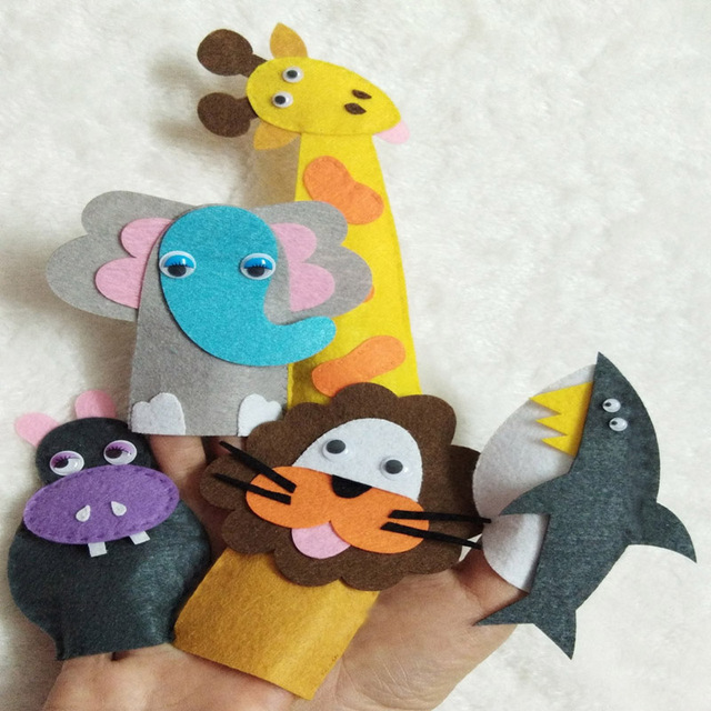 Sewing Felt Toys Diy Material Package Free Cutting Handmade Animal