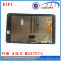 New 7 inch For Asus Google Nexus 7 ME370T ME370TG ME370 Wifi Ver LCD Display Touch Screen Digitizer Sensore with Frame Assembly