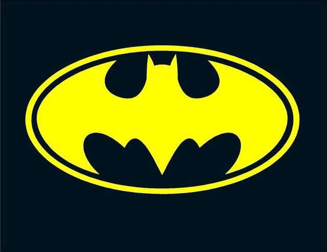 Batman Logo Window Sticker Vinyl Decal As Low As 199 Small Or
