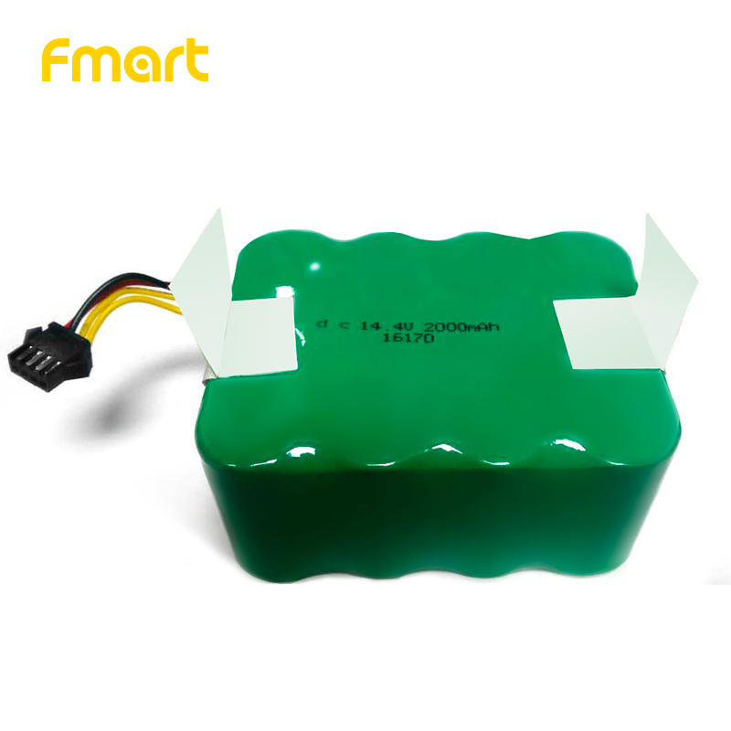 Battery for Fmart Robot Vacuum Cleaner (YZ-Q1, FM-R150,FM-R330) 14.4V 2000Amh fmart fm r150 smart robot vacuum cleaner cleaning appliances 128ml water tank wet 300ml dustbin sweeper aspirator 3 in 1 vacuums