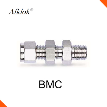 цена на 14mm 16mm 20mm 25mm 1/8 1/4 Tube OD stainless steel 316 Tube Fittings Bulkhead Male Connector