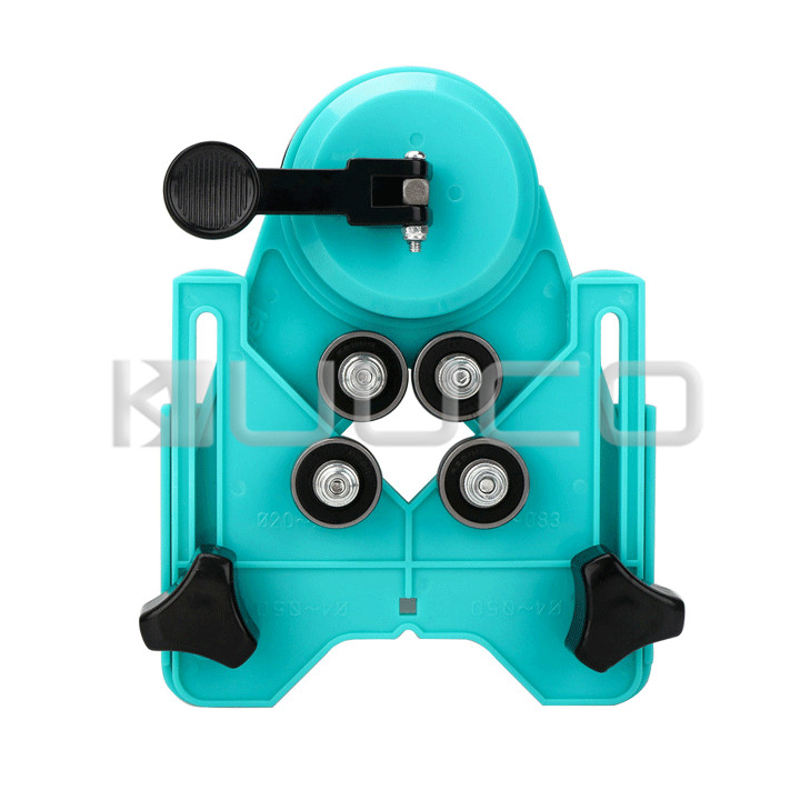Hole Saw Guide Jig Fixture/Adjustable jigsaw tools/Drill Bit Set Openings Locator for Ceramic/Glass/Granite/Porcelain Marble etc jelbo cone step drill hole tools countersink 3pc drill bit set power tools step drill bit for metal power tools set hole cutter