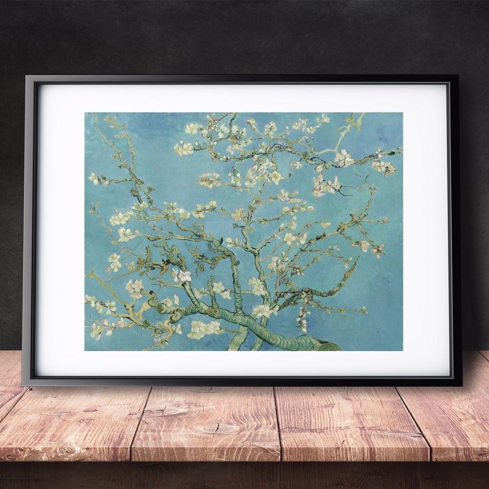 Van Gogh Almond Blossom, 1890 Canvas Art Print Painting Poster ... for Almond Blossom Van Gogh Poster  143gtk