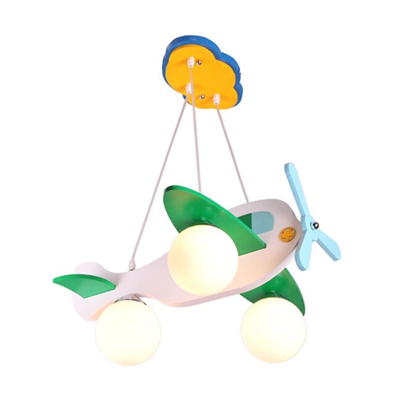 Moderna dječja spavaća soba Privjesna svjetiljka za zrakoplove - Unutarnja rasvjeta - Foto 5