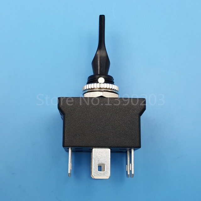 Black R13 54B 6Pin DPDT 3Position 12mm (ON) OFF (ON) Momentary ...