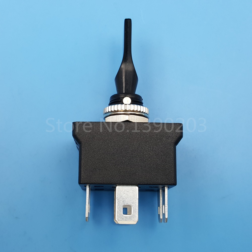 SCI R13-54B 6Pin MON-OFF-MOM Momentary DPDT 12mm Car Toggle Switch DC12V 20A все цены