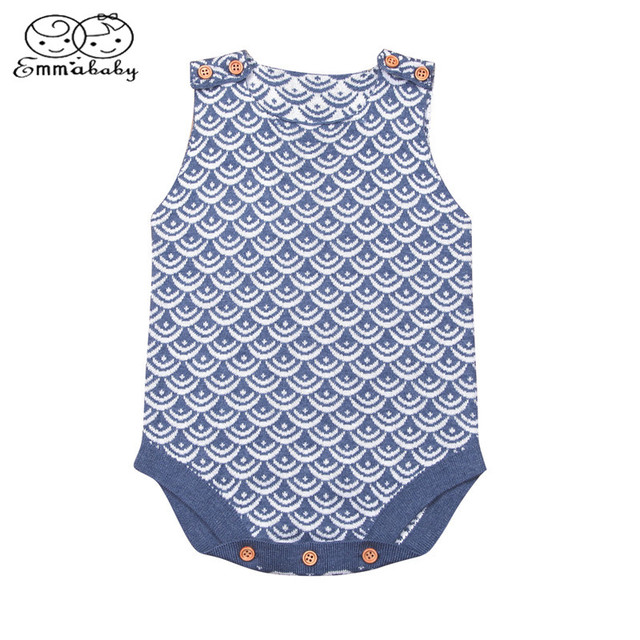 2b605f79a Emmababy Newborn Infant Baby Boy Girl Knitted Sleeveless Sweater ...
