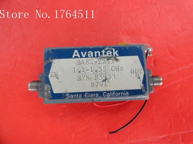 [BELLA] AVANTEK SA82-2212 1.1-1.55GHz Vin:17V SMA Amplifier Supply