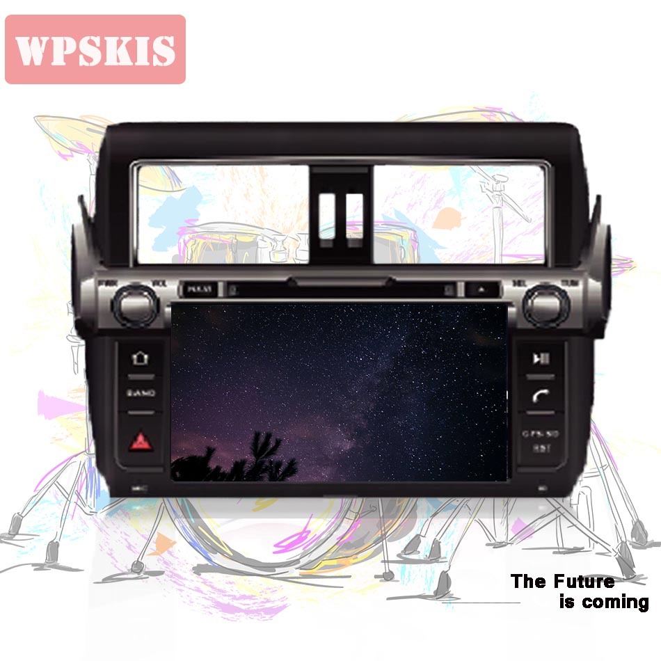 9 Android 9 0 tape recorder Car DVD Player for Toyota Prado 150 Land Cruiser 2014