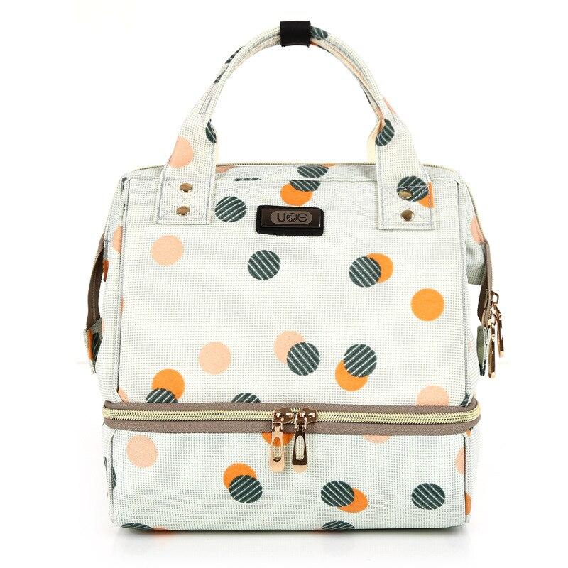 HTB1VttMd8Cw3KVjSZFlq6AJkFXaV Diaper Bag Mummy Maternity Bag For Baby Small Waterproof Baby Nappy Changing Backpack For Moms yoya Stroller Organizer Baby Bag