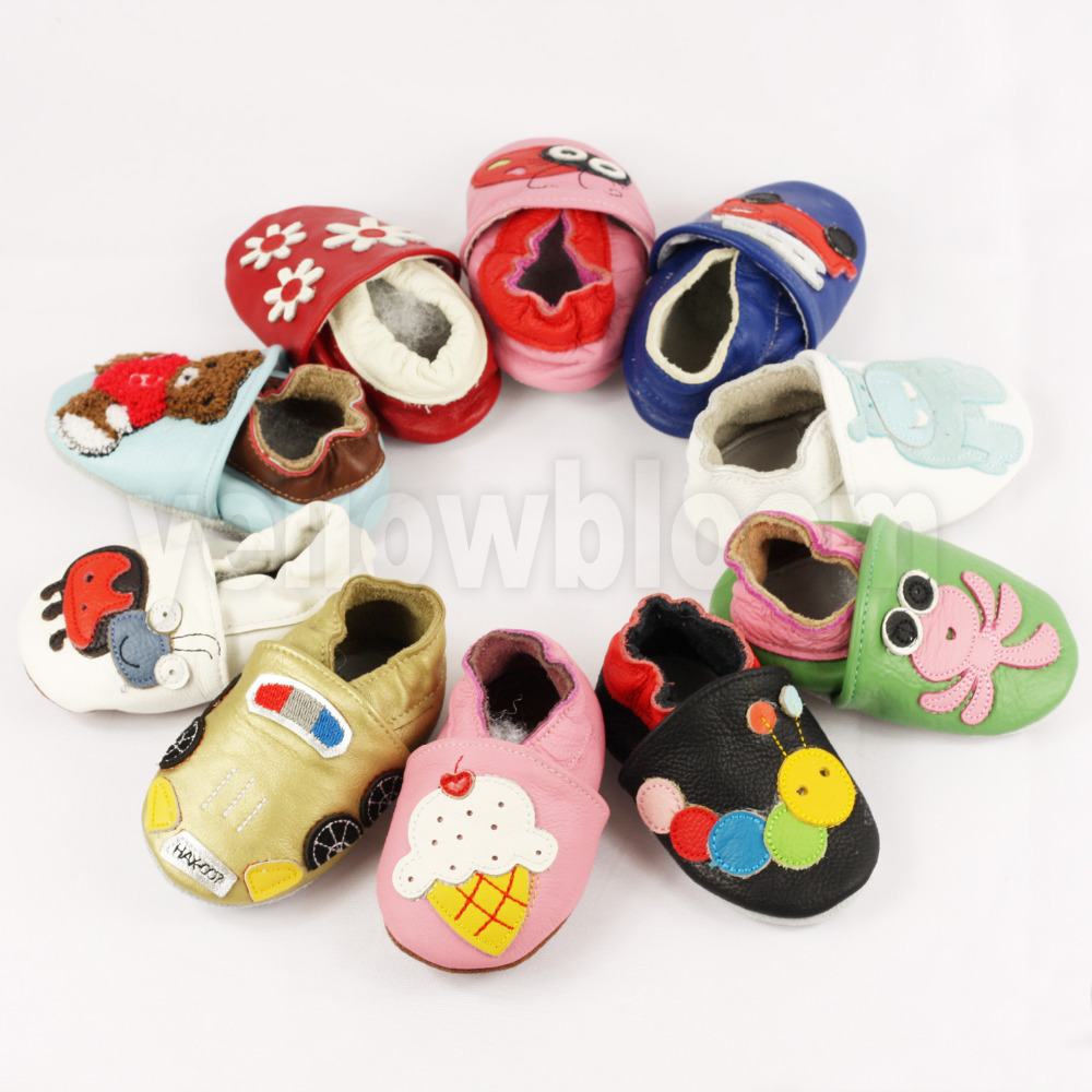 Soft Leather Shoes Baby Boy Girl Infant