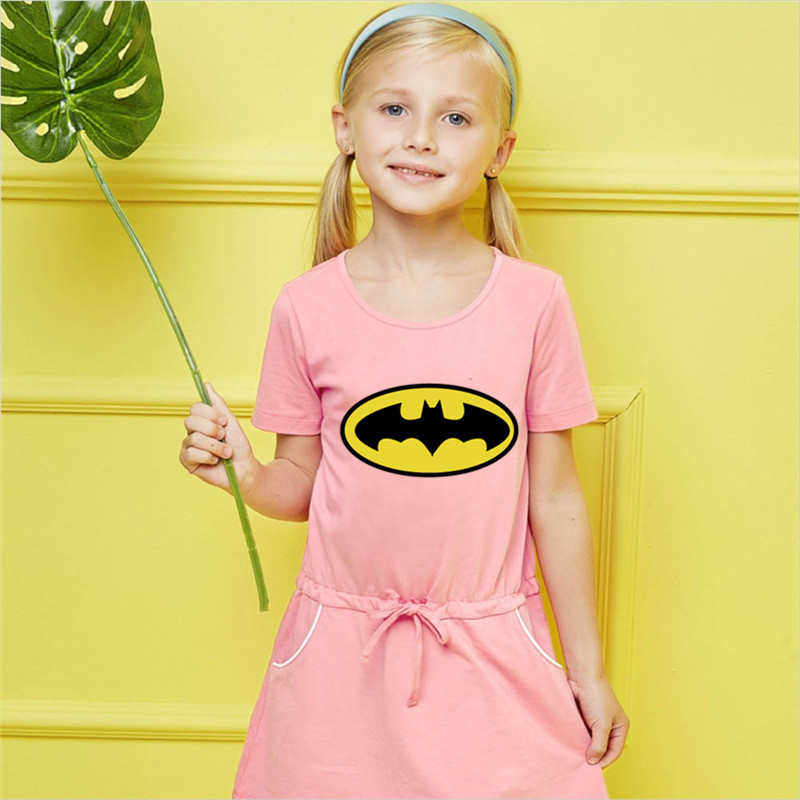 New Design Superman Batman Comic Hero Dress Batgirl T Shirt