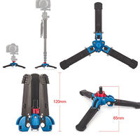 Manbily M 1 Hydraulic Universal Three Feet Leg Base Stand Tripod For 3/8 Monopod