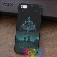 UNDERTALE CASTLE Fashion Cell Phone Case For Iphone 4 4s 5 5s 5c SE 6 6s