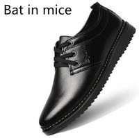 Bat In Mice 2017 Men S Shoes Summer New Shoes Men S England Round Black Men