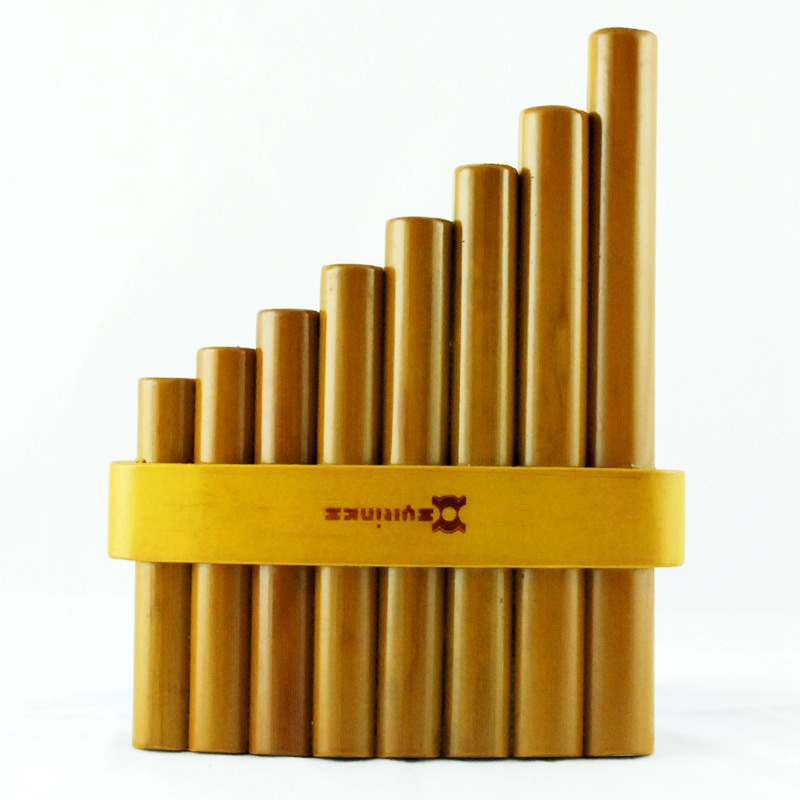 Tuyaux de casserole bignner de bois flûte de casserole 8/15 tuyaux faits à la main en bambou Flauta Pan tuyaux faits à la main Panflutes Flauta Instruments de musique