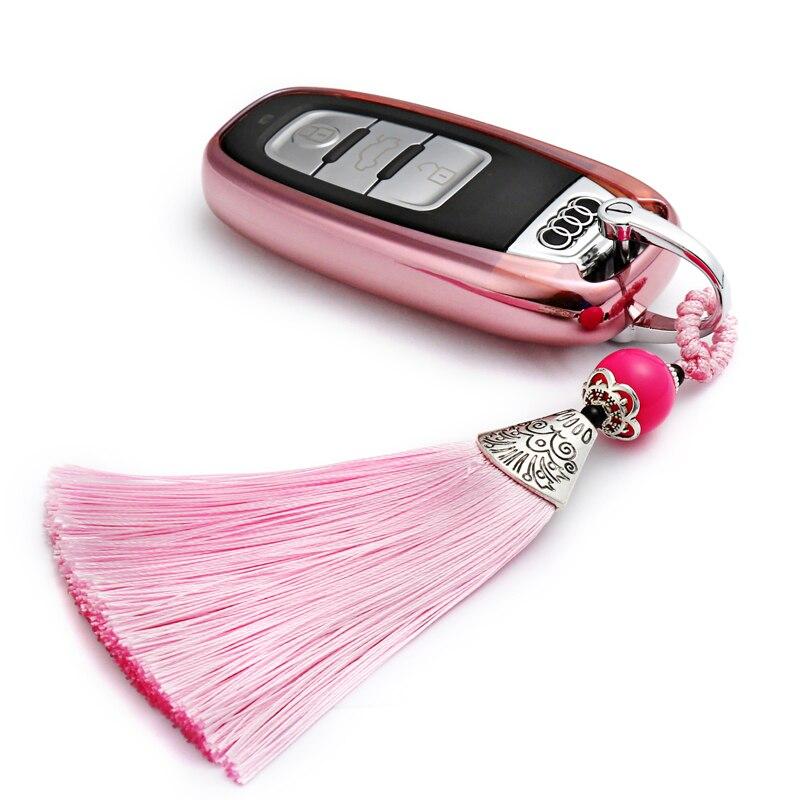 2017 New Real Car Accessories Key Case Bag Cover or Audi A4 A4L A5 A6 A6L Q5 S5 S7-in Key Case ...