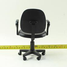2 Colors 1/6 Scale Computer Chair Model Swivel Chair Action Fiugure Office Sence Accessories