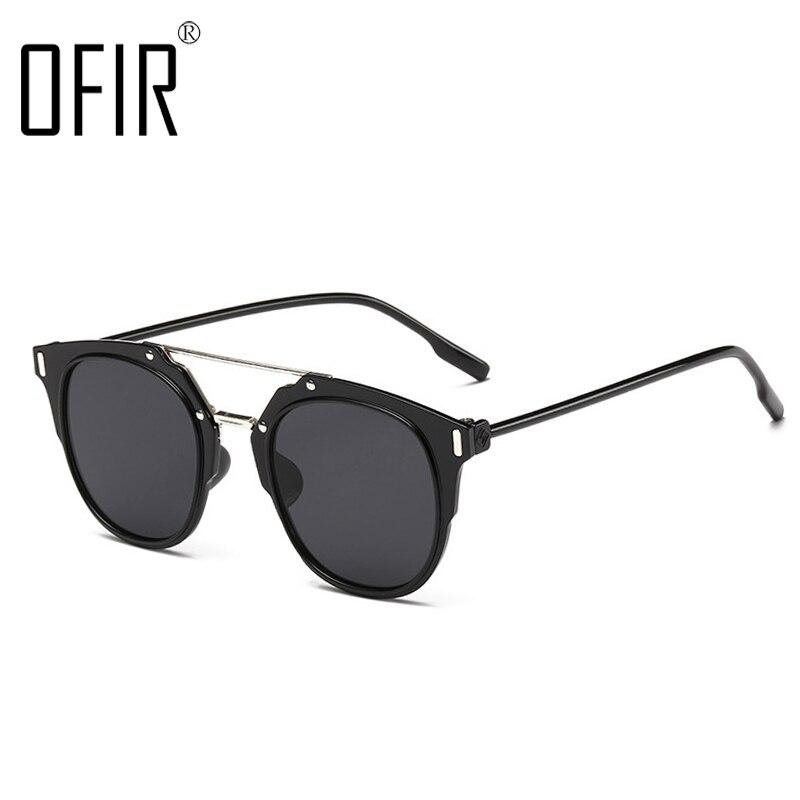 ofir classic round sunglasses brand designer men vintage retro john lennon glasses women eyewear xft