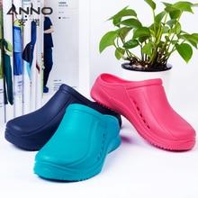 bb874ce3 ANNO zapatos médicos suaves para Mujeres Hombres luz enfermera Zueco  antideslizante zapatos quirúrgicos zapatilla ZAPATOS DE