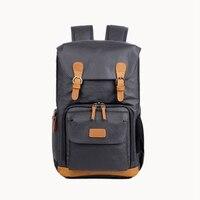 Hot TTKK Dslr Waterproof Canvas Camera Bag Outdoor Multi Functional Photography Backpack For Camera Lens