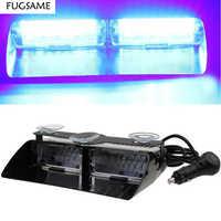 FUGSAME Trasporto libero luminoso eccellente Auto Spie S2 16 pz LED lampeggiante luce