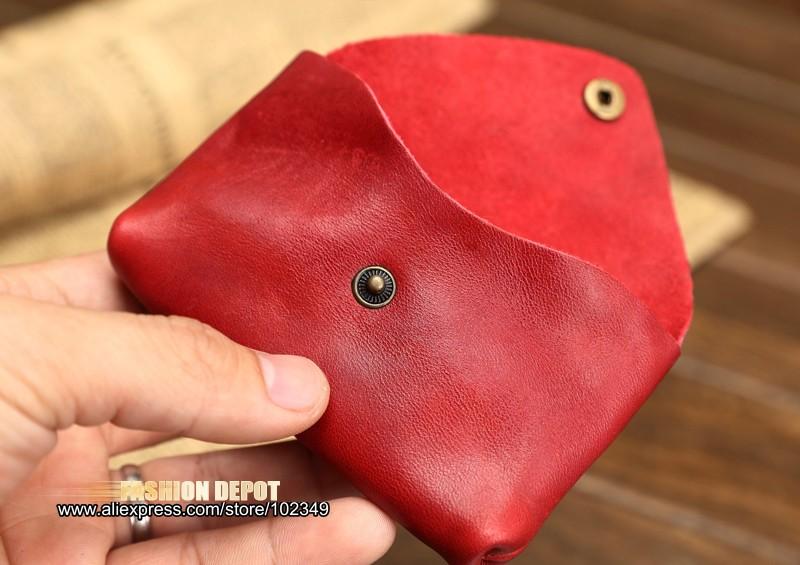 Vintage Genuine Leather Credit Card holder 19991# (7)