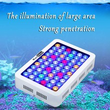 New design free shipping 180W LED aquarium Lights coral raising marine fish aquarium led light professional lighting RoHs/CE