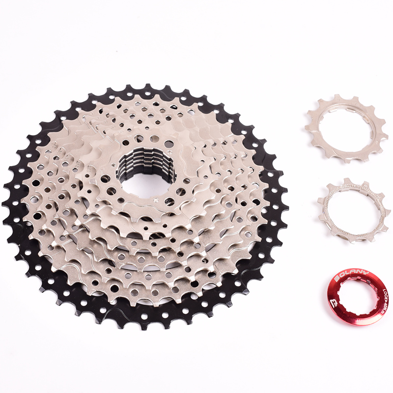 BOLANY 9 Speed Cassette 11-36 T Freewheel MTB Bicycle Cassette Flywheel Sprocket
