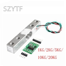 1KG 5KG 10KG 20KG HX711 AD Module Weight Sensor Electronic Scale Aluminum Alloy Weighing Pressure Sensor