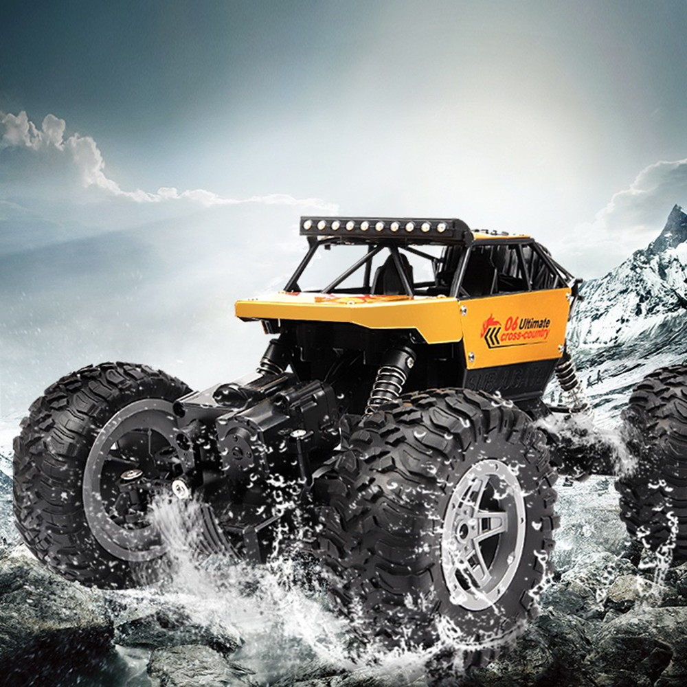 Image 2 - RC Car 2.4G 4CH Rock Crawlers Driving Car Drive Bigfoot Car Remote Control Car Model OffRoad Vehicle Toy wltoys drift-in RC Cars from Toys & Hobbies