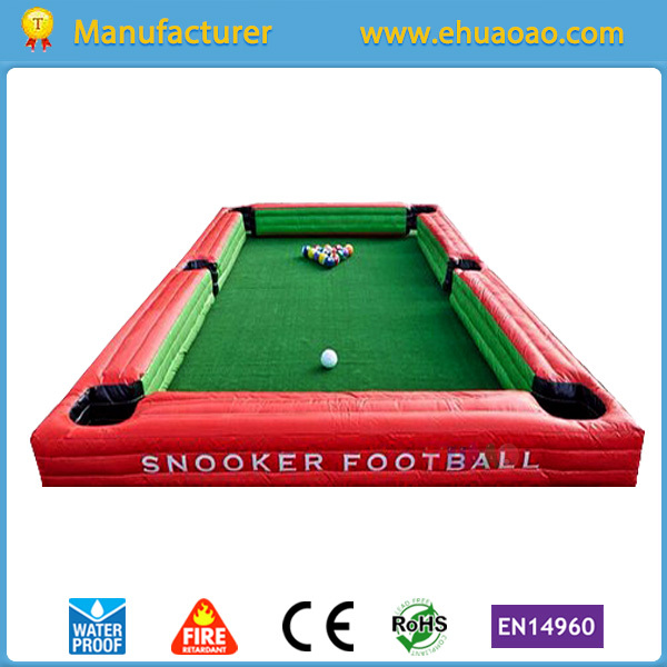 inflatable snookball field for kdis and adult with 16pcs giant snooker ball and CE blower x077 5m high inflatable giant christmas santa claus with blower freeshipping for advertising