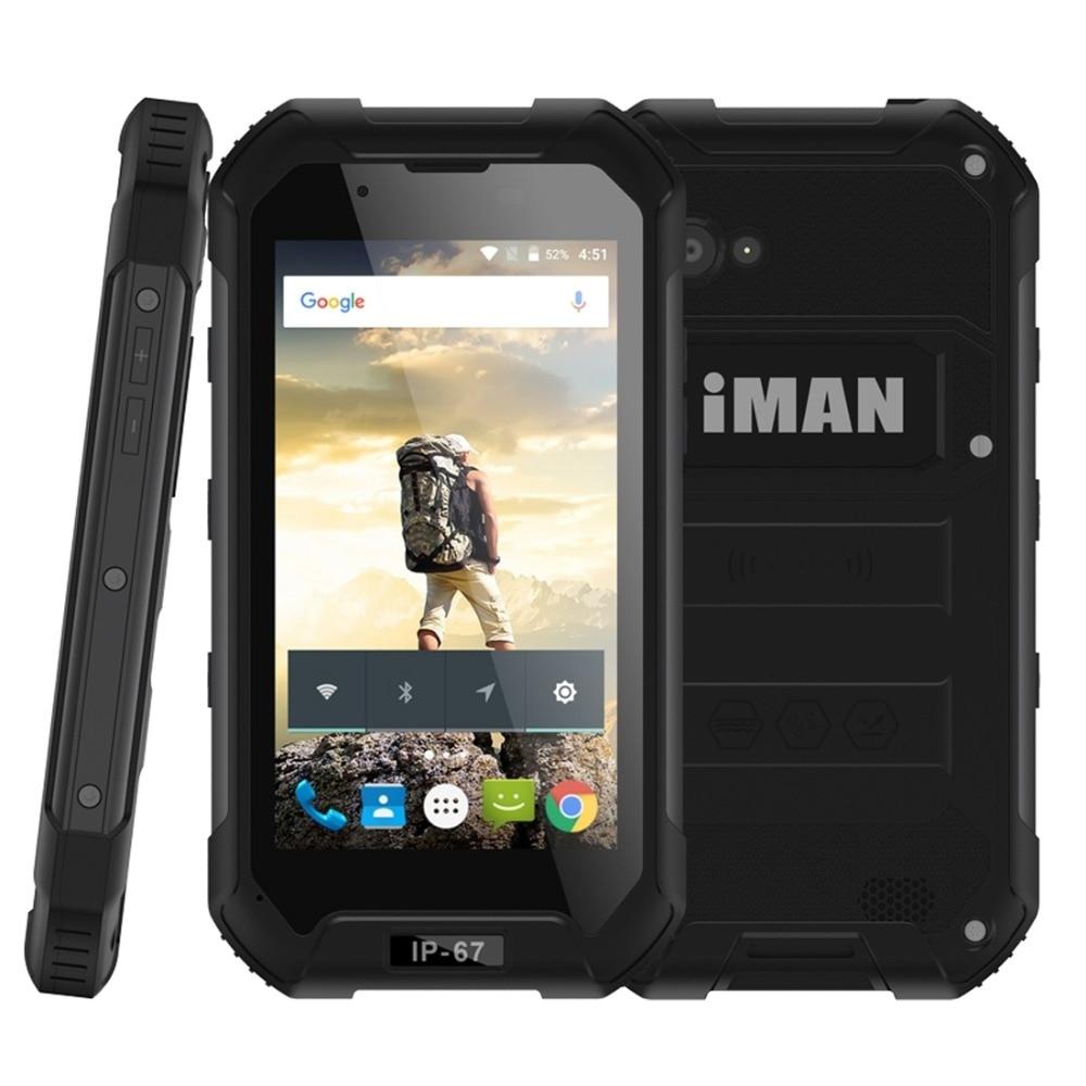 iMAN X5 Triple Proofing Phone Android 5 1 RAM 1GB ROM 8GB MTK6580 Quad Core 1