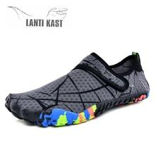 2019 Summer Aqua Shoes Water Men Beach Slippers Light Upstream Adult Swimming Sandals Diving Socks