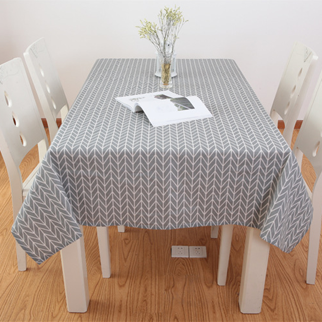 6 Sizes Table Cloth Country Style Plaid Print Rectangle Square Table <font><b>Cover</b></font> Tablecloth <font><b>Home</b></font> <font><b>Textile</b></font> <font><b>Home</b></font> Kitchen Decoration image
