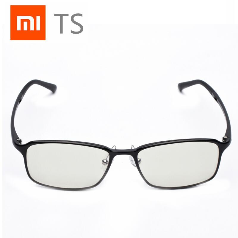 Xiaomi Mijia TS Anti Blue Glasses Goggles Glasses Anti Blue Ray UV Fatigue Proof Eye Protector Mi Home TS Glasses asap-in Smart Remote Control from Consumer Electronics