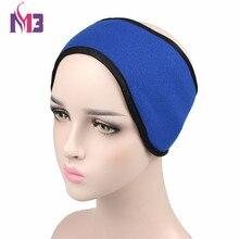 Unisex Women Men Ear Warmer Winter HeadBand Polar Fleece Ski Muff Stretch Spandex Headband Hairband Hair Accessories