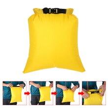 Lixada Pack von 3 Wasserdichte Tasche 3L + 5L + 8L Outdoor Ultraleicht Trockenen Säcke für Camping Wandern Reisen