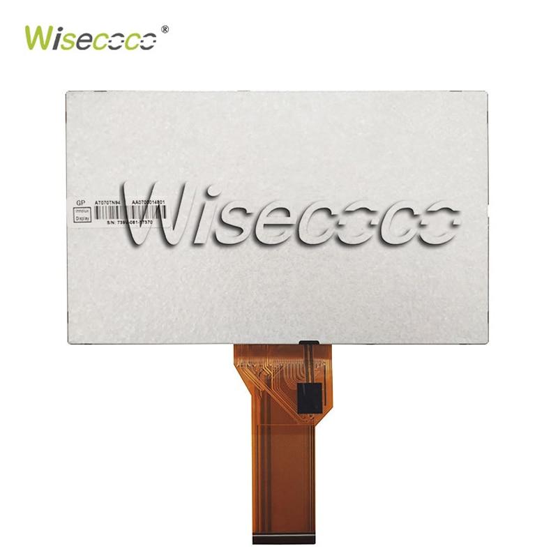 """מערכות ניווט Wisecoco 7.0"""" אינץ צג LCD פטל Pi מסך TFT LCD Monitor AT070TN90 92 94 + לוח הבקר TY2662-V1 Driver (2)"""