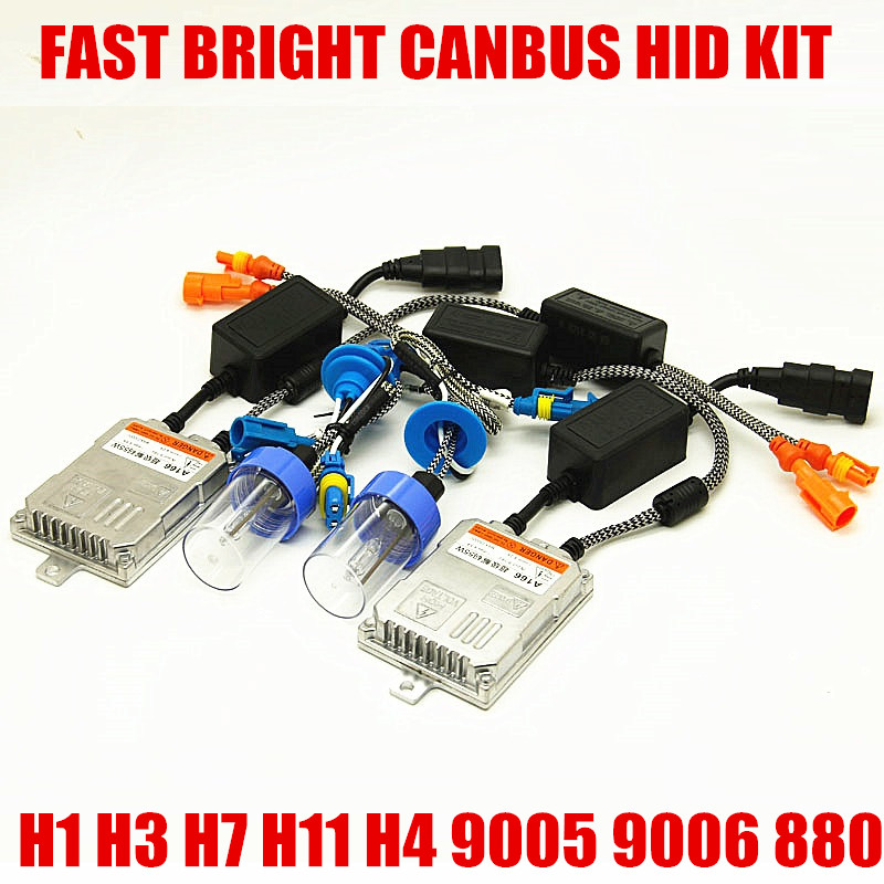 5W Xenon HID Canbus Error Canceller H1 H7 H11 9006 H3 9005 HB3 HB4 Car Headlight Fog Light with Digital error free Ballast canbus error free ac hid xenon conversion kit emc ballast headlights fog lights h1 h3 h7 9005 hb3 9006 hb4 d2s hb4 h11 d2h