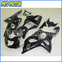 Motorcycle Part ABS Plastic Injection Fairing Kit For Suzuki GSXR 1000 00 2002 Black A1