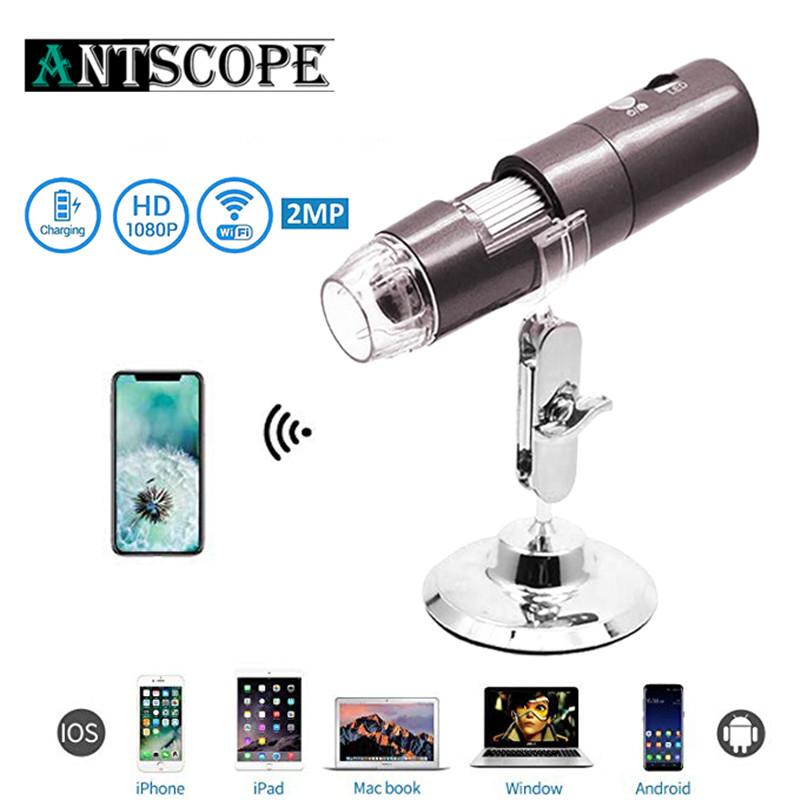 WIFI Digital Microscope Camera USB 8mm Digital Red Black Blue Magnification 8 LED Handheld Electron Endoscope Microscope Camera portable 400x lens electron digital monocular microscope optical instruments microscope usb endoscope camera microscopio