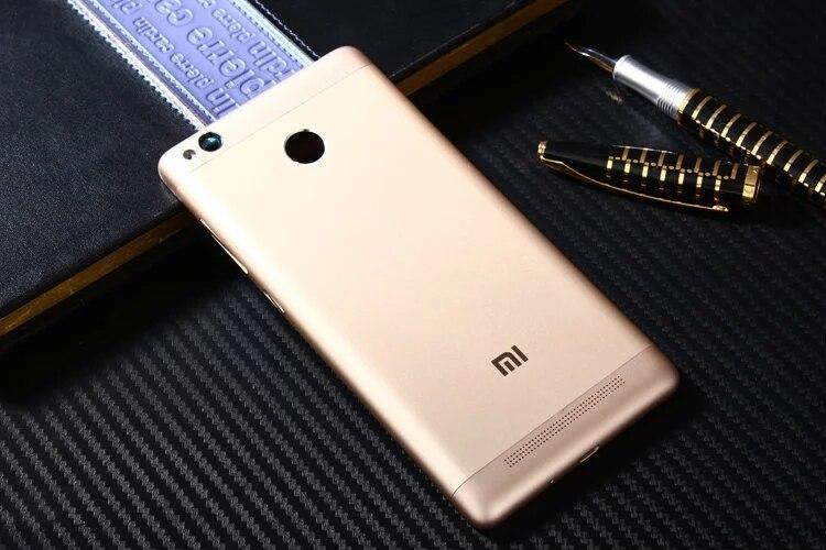 imágenes para Redmi3 Pro Oficial Original de METAL Caso de la Cubierta para Xiaomi Redmi 3 Pro Contraportada de La Batería de piezas de Repuesto