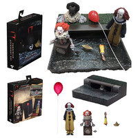NECA Stephen King's Pennywise 2017 Ultimate Joker Accessory Set Figure PVC Action Figure Collectible Model Toys
