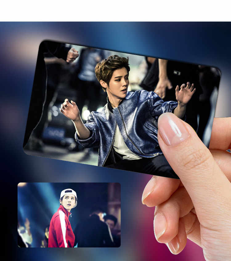 Kpop 2017 Vixx new album Wacky banquet crystal sticker set 10 k-pop Vixx LOMO  pictorial poster