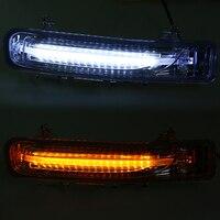 Daytime Running Light Driving Fog Lights DC 12V LED White Yellow Turn Signal Lights For Ford