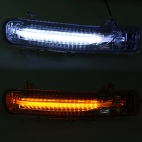 Daytime Running Light Driving Fog Lights DC 12V LED White Yellow Turn Signal Lights For Ford