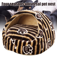 Detachable Washable Four Seasons Universal Pet Nest Teddy Bear Small Dog Bed House can CSV