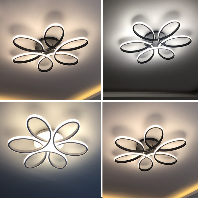 Modern led ceiling lights for living room bedroom AC 90-260V Home Decorative Modern LED Ceiling lamp luminarias para sala