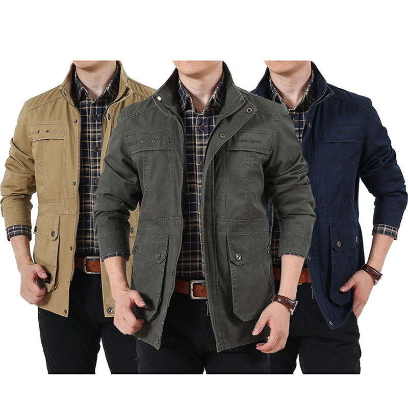 New Stab-resistant Anti-cut Mens Jacket 100% Cotton Self-defense Military Tactics Fbi Swat Police Hidden Personal Hack Clothing Elegant In Style Back To Search Resultssecurity & Protection